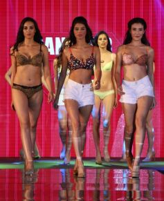 A Reflection Of Beauty Lingerie Fashion Show Candour London