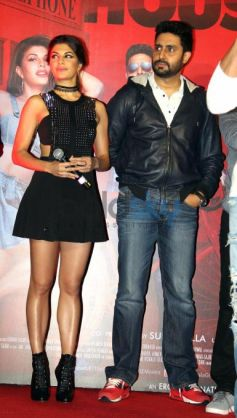 Akshay, Abhishek, Jacqueline And Others At Housefull 3 Song Launch