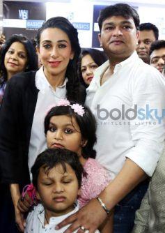 Karisma Kapoor Inaugurated Western Basics Kids Wear Store