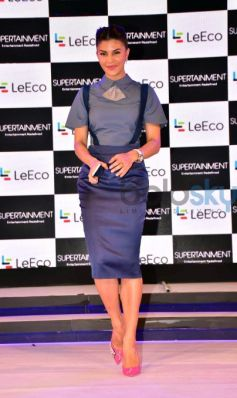 Sidharth Malhotra & Jacqueline Fernandez At The Launch Of New Smartphone LeEco