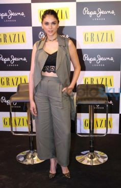 Aditi Rao Launches Grazia Magazine June Issue