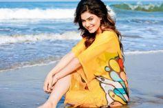 Bollywood Actress Kangna Sharma Beach Side Bikini Photoshoot