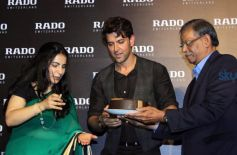 Hrithik Roshan Unveils Rado Brown High Tech Ceramic Collection