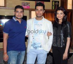 Kajal Aggarwal And Randeep Hooda At Trailer Launch Of film Do Lafzon Ki Kahani