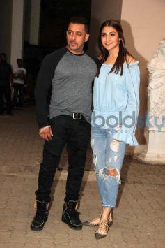 Salman Khan And Anushka Sharma Promote Film Sultan