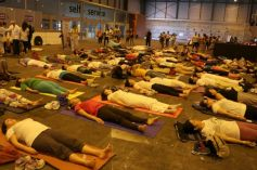 Shilpa Shetty At The IIFA Stomp Yoga Masterclass 2016