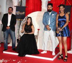 Sunny Leone And Rannvijay Singh During The Launch Of MTV Splitsvilla 9