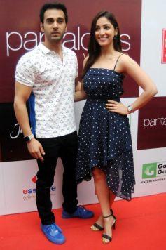Yami Gautam And Pulkit Samrat At Pantaloons