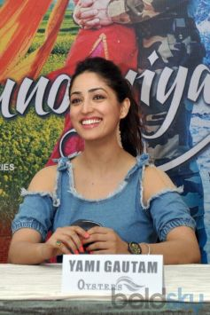 Yami Gautam And Pulkit Samrat At Promotional Event