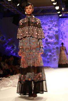 Designer Rahul Mishra Collection at ICW 2016