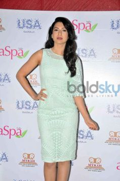 Gauhar Khan Unveils Asia Spa India Magazine July Cover Issue