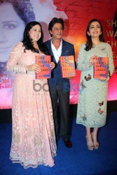 Nita Ambani And Shahrukh Khan Launch Gunjan Jain's Book