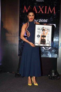 Priyanka Chopra On The Cover Of Maxim India Magazine