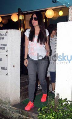 Spotted Kareena Kapoor At Salon