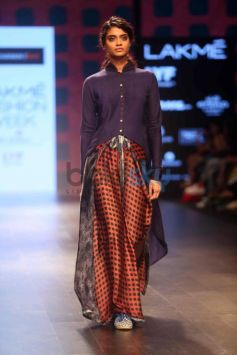 Priyadarshani Rao Show At Lakme Fashion Week Winter Festive 2016