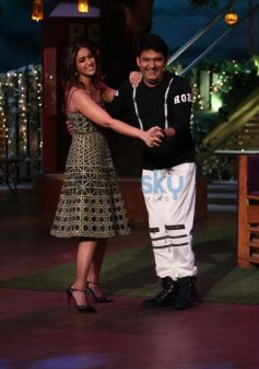 Promotion Of The Film Rustom On The Sets Of The Kapil Sharma Show