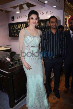 Urvashi Rautela Inaugurates Glamour Exhibition At Sahara Star