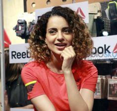 Kangana Ranaut At Launch Of Reebok Store In Chandigarh