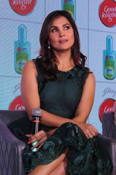 Lara Dutta And Mahesh Bhupathi Launch Good Knight Home Repellents