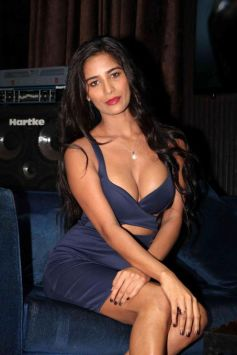 Poonam Pandey Dazzle In Cocktail Dress At The Press Conference