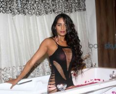 Poonam Pandey Pops Eyeballs Yet Again In A Nearly Naked Dress