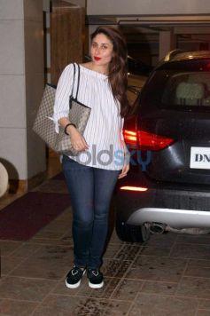 Saif Ali Khan With Wife Kareena Spotted At Bandra