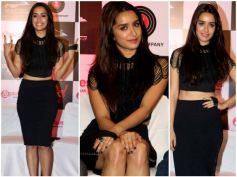 Shraddha Kapoor Looks Like A Goth Diva At Rock On 2 Music Launch