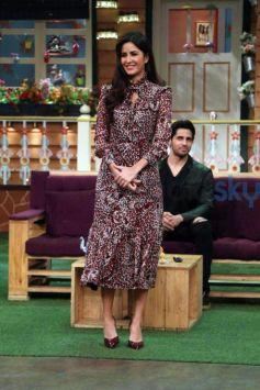 Sidharth Malhotra & Katrina Kaif Promote Baar Baar Dekho On The Kapil Sharma Show