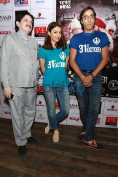 Soha Ali Khan At A Press Meet To Promote Her Film 31 October