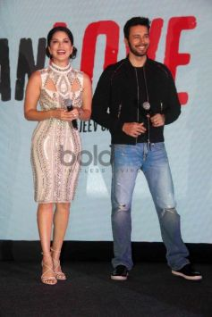 Sunny Leone In A Bodycon Dress For A Music Launch