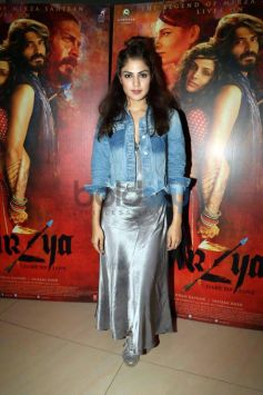 Celebs Grace The Special Screening Of Mirzya At NSCI