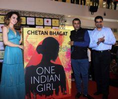 Chetan Bhagats Novel One Indian Girl Unveiled By Kangana Ranaut