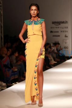 Designer Ankita Presented SAAJ At AIFW Spring Summer 2017