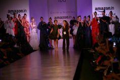 Designer Gauri And Nainika Collection At AIFW Spring Summer 2017