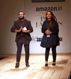 Designer Hemant And Nandita Collection At AIFW Spring Summer 2017