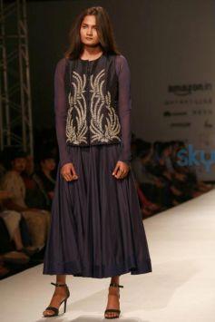 Designer Kavita Bhartia Collection At AIFW Spring Summer 2017
