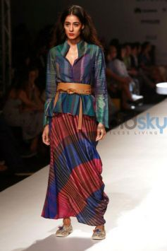 Designer Krishna Mehta Collection At AIFW 2016