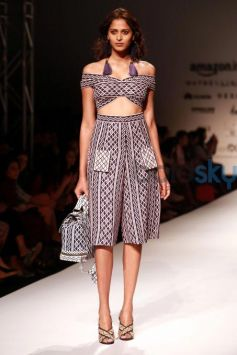 Designer Tanieya Khanuja Collection At AIFW Spring Summer 2017