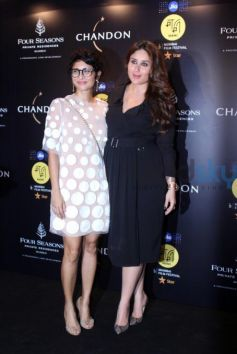 Kareena Kapoor Kept It Stylish In A Black Trench Dress At Jio MAMI Festival