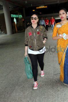 Kareena Kapoor Shows Off Baby Bump In Edgy Jacket