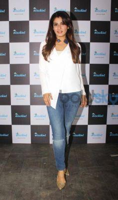 Raveena Tandon Launch New App Nischint At Thai Villa Mumbai