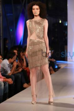 Rohit Gandhi And Rahul Khanna Collection At AIFW Spring Summer 2017