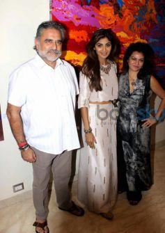 Shilpa Shetty Inaugrate Anu Malhotra Show Flow Dreams