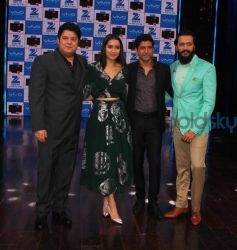 Shraddha Kapoor Looking Pretty In Green And Silver Outfit For Movie Promotions