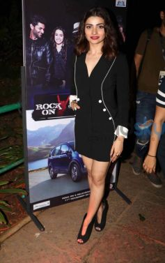 Shraddha Kapoor Wearing CORD Outfit For Rock On 2 Trailer Launch