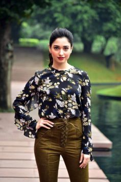 Tamannah Bhatia Was Spotted Wearing Self Portrait And Ritika Bharwani Outfits
