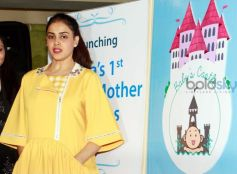 Genelia DSouza Graces Babys Castle Wellness Launch