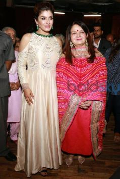 Raveena Tandon At The Event Save The Girl Child