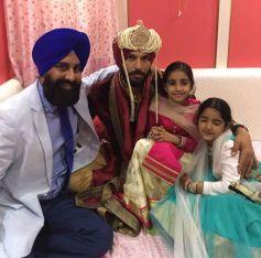 Yuvraj Singh Ties Knot With Hazel Keech At Era Of Baba Ram Singh Ganduan Wale In Village Duffer