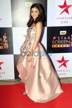 Alia Bhatt Looking Fresh As Ever On The Red Carpet Of The Star Screen Awards